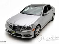 2010 Mercedes Benz E550 finished in Iridium silver