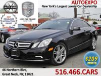 This stylish 2010 Mercedes-Benz E350 Coupe comes