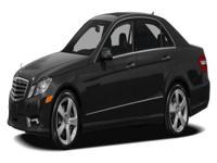 Options:  2010 Mercedes E-Class E350 4Matic Our