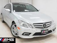 E550 Premium AMG Wheels Navigation Backup Camera EMG