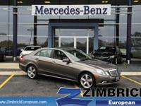 Options:  2010 Mercedes E-Class 4Dr Sdn E350 Luxury