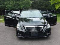 Very very clean fully loaded E-class Mercedes with very