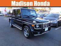 2010 MERCEDES G55 AMG Low miles indicate the vehicle is