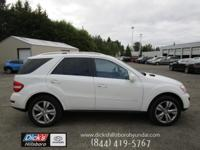 WOW!! This Arctic White 2010 Mercedes-Benz M-Class ML