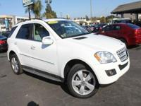 Options:  2010 Mercedes-Benz M-Class Ml 350 4Matic Awd