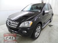 Options:  2010 Mercedes M-Class 4Matic 4Dr Ml