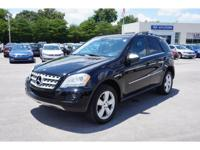 New Price! 2010 Black Mercedes-Benz M-Class ML350