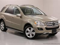 This 2010 Mercedes-Benz M-Class 4dr 4MATIC 4dr ML350