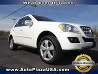 This 2010 Mercedes-Benz M-Class is ready to go with