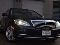 This Mercedes-Benz S-Class is ready and waiting for you
