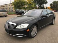The Mercedes Benz S550 is the highest of its class.