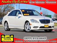 Options:  2010 Mercedes S-Class 4Dr Sdn 4Matic