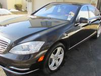 2010 MERCEDES S550 DESIGNO. 60,000 ORIGINAL MILES. With