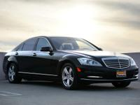 Loaded! This 2010 Mercedes-Benz S550 SPORT comes
