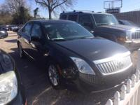 Options:  2010 Mercury Milan I 4 4Dr