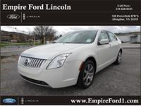 Options:  2010 Mercury Milan V6 Premier|V6 Premier 4Dr