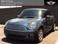 2010 Mini Cooper Base 2dr Hatchback Hatchback Blue I4