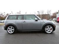 JUST ARRIVED! This 2010 MINI Cooper Clubman 2dr Cpe S
