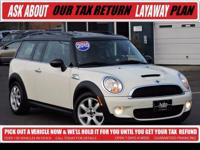 """Certified - Cooper Clubman S - Low Miles -"