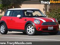 New Price! Clean CARFAX. Red / White 2010 MINI Cooper
