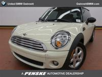 ======: This 2010 Mini Cooper Hardtop has a Pepper