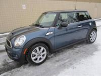 CHECK OUT THIS 2010 MINI COOPER S 2-dr HATCHBACK MODEL!