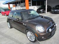 This 2010 MINI Cooper 2dr S Hatchback features a 1.6L