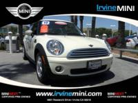 Cooper Hardtop trim. MINI Certified, CARFAX 1-Owner,
