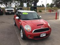 Red 2010 MINI Cooper S FWD Getrag 6-Speed Manual with