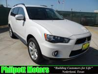 Options Included: N/A2010 Mitsubishi Outlander, white