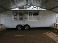 2011 concession trailer wells fargo like new it has