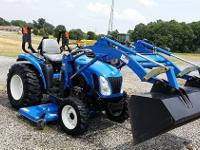 This is a model 2010 TC29 New Holland Tractor....only
