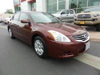 New Arrival! This 2010 Nissan Altima 2.5 S will sell