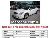 2010 Nissan Altima 2.5 4dr Sedan Sedan 4 Doors