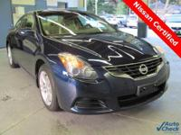 2010 Altima 2.5S Coupe. This is a 1-Owner ** Loaded