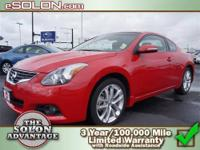 2010 Nissan Altima 2dr Car 3.5 SR Our Location is: Dave