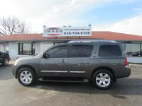 Beautiful Nissan Armada Four Wheel Drive. loaded with