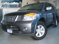2010 Gray Nissan Armada SE Denver/Aurora. LOW MILEAGE!