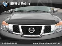 BMW of Mobile presents this 2010 NISSAN ARMADA SV with