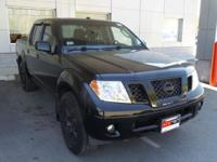 Clean CARFAX. Super Black 2010 Nissan Frontier PRO 4WD