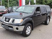 Black 2010 Nissan Frontier SE 4WD 5-Speed Automatic