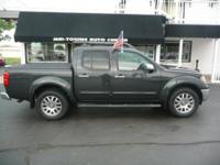 4X4,CREW CAB, HEATED LEATHER SEATS, SUNROOF,ALLOY