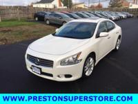 Options:  2010 Nissan Maxima 3.5 Sv|White|*** Sporty