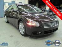 2010 Nissan Maxima SV in the best color combo!! **