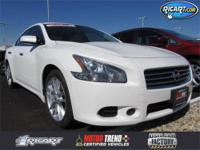 ONE OWNER VEHICLE TRADE IN!! Maxima 3.5 SV, 4D Sedan,