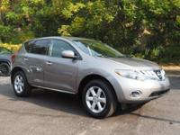 2010 Nissan Murano S New Price! Clean CARFAX. CVT, AWD,