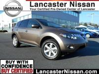 Take a look at our CarFAx One Owner 2010 Nissan Murano
