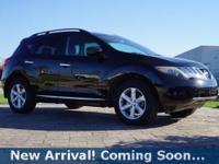2010 Nissan Murano SL in Super Black, This Murano comes