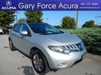 Get behind the wheel of our 2010 Nissan Murano SL Front