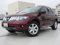 This 2010 Nissan Murano 4dr AWD 4dr SL SUV features a